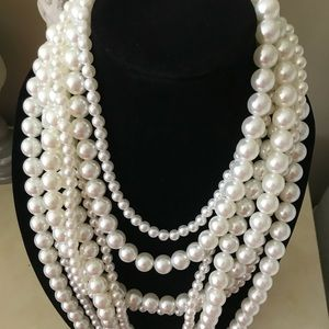 Vintage faux Pearls pearls and more pearls!